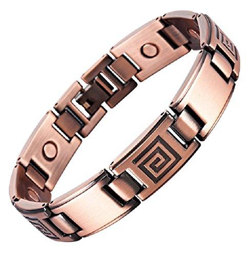 Bracelet-magntique-en-cuivre-finition-vintage-avec-des-aimants-185-cm-0